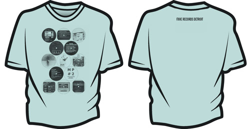 FXHE T SHIRT Sample Turquoise